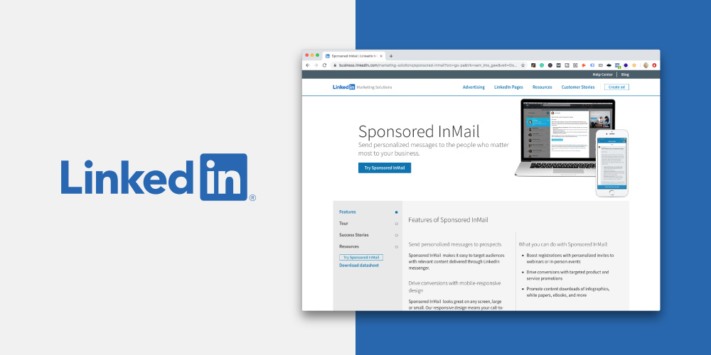 LinkedIn Sponsored InMail is marketing targeting at its best