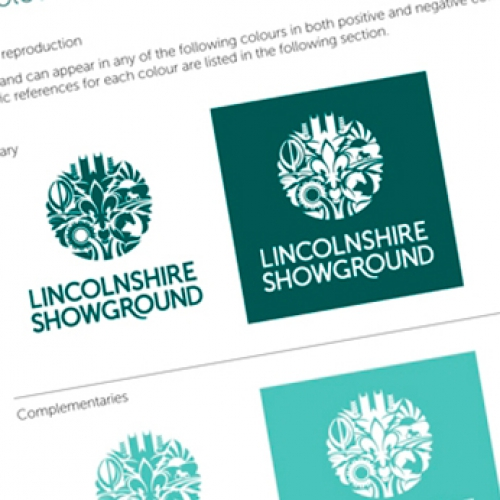 New brand and literature for the Lincolnshire Showground